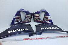 98-99 HONDA CBR900RR CBR 900 RR RIGHT LEFT FRAME MID SIDE COVERS COWLS PANELS 99