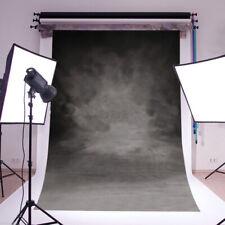5*7ft Vinyl Simple Gray Photographic Background Cloth Photo Studio Back Drop