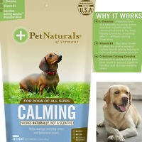 Dog Chew Pet Calm Anxiety Relief Bites Anti Stress Treat Natural Behavior Supprt