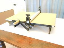 Clay Slab Roller, Heavy Duty, Portable, Tabletop, Adjustable, No Shims