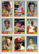 Lot of 9 Rookie Stars Nolan Ryan Yastrzemski Tiant Munson Bob Gibson & more