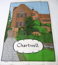 Chartwell Country Home England Linen Tea Towel Souvenir Winston Churchill