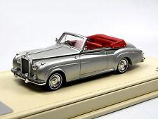 TSM Model TSMCE154309 1959 Rolls Royce Silver Cloud Drophead Coupe silver 1/43
