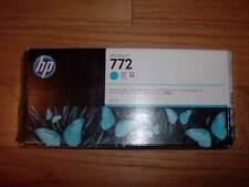 2019 GENUINE HP #772 300ml CYAN Cartridge CN636A DESIGNJET Z5200 FACTORY SEALED