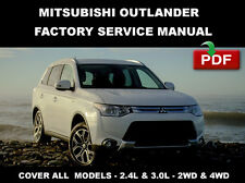 2014 2015 MITSUBISHI OUTLANDER 2.4L 4J12 3.0L 6B31 ENGINE SERVICE REPAIR MANUAL
