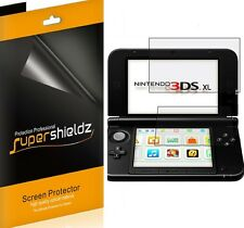 3X Supershieldz Clear LCD Screen Protector Shield Cover for Nintendo 3DS XL