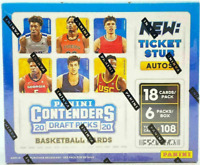 2020-21 PANINI CONTENDERS DRAFT PICKS HOBBY BASKETBALL - 3 BOX LOT