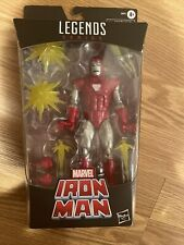 "Iron Man Marvel Legends Series 6"" Silver Centurion Figure Exclusive Hasbro Toy"