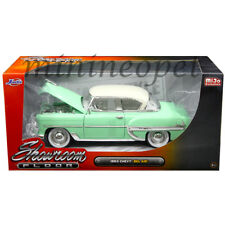 JADA 98884 SHOWROOM FLOOR 1953 CHEVROLET BEL AIR 1/24 DIECAST LIGHT GREEN