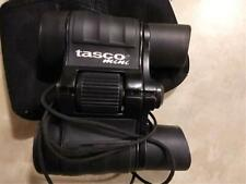 "Exc ""Tasco Mini"" Binoculars 1000 Yds 25-4 X 30Bk 302' Black W/Black Cloth Pouch"