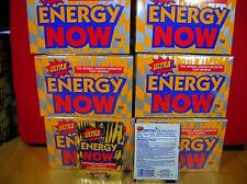ULTRA ENERGY NOW/ 6-24 PKT BXS(144 PKTS=432 TABLETS) SAVE $$-WE SHIP FAST!!