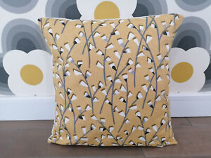 """Tenby Sunflower Ochre Mustard Cushion Covers - All Sizes 16"""" inch"""