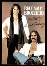 Bellamy Brothers Autogrammkarte TOP ## BC 47947 D