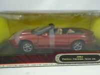1:18 Road Signature - 2002 Pontiac Firebird Trans Am Redmetallic - Rareza