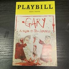 GARY March 2019 Broadway Playbill! TITUS ANDRONICUS Nathan Lane