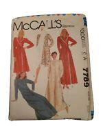 Mccalls 7789 Miss Size Sm house Coat Robe Uncut