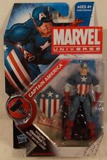 "Marvel Universe 3.75"" Series 2 #008 Captain America (World War 2)  Hasbro  MOC"