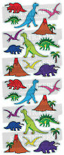 10 Fun Stickers DINOSAURS 735 For Children Fun Activities Craft Decorating Gifts