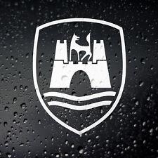 Wolfsburg Sticker - Cal Look Campervan Hood Ride Rat Look