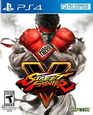 Street Fighter V 5 (Sony PlayStation 4, 2016)