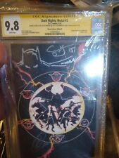 DARK NIGHTS METAL 5 CGC SS 9.8 • PLANET COMICON VARIANT D • Sketch and 2x sign