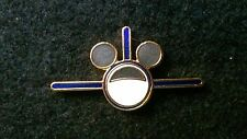 DISNEYLAND CAST MEMBER WDTC EARFORCE ONE MICKEY EARS PLANE PIN, BLUE WINGS
