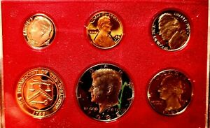 Deep Cameo 1982 United States Proof Set 5-Coin Collection - US Mint