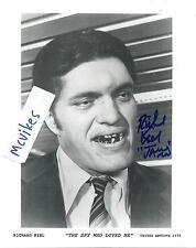 """Richard Kiel Jaws """"The Spy Who Loved Me"""" Autographed Signed 8x10 Photo #1 COA"""