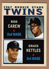 Rod Carew & Graig Nettles '67 Minnesota Twins Rookie Stars Pastime Series #20