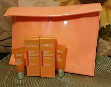 2 LIERAC MESOLIFT SERUM Ultra Vitamin Enriched Radiance Booster .30 +Free Pouch
