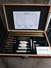 Winchester Universal 42 Piece Gun Cleaning Kit in Wood Case Classic Great Nib
