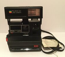 Vintage Polaroid 650 Instant Land Camera with Built-in Lens