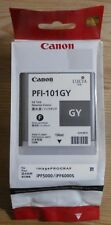 Original Canon pfi-101gy encre Gris pour ipf5000 ipf6000s 0892b001 neuf dans sa boîte