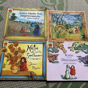 Katie & The Sunflowers/impressionists/picture Show/dinosaurs Nooks James Mayhew