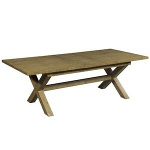 Clovelly designer solid Acacia farmhouse large dining table (MADE TO ORDER)