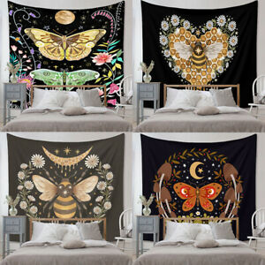 Insects Moths Gothic Biology Entomology Moon Phase Snake Bee Aesthetic Tapestry