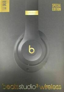 Beats By Dr Dre Studio3 Wireless Headphones - Shadow Gray Brand New and Sealed