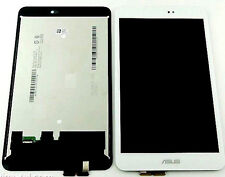 GLS DISPLAY LCD +TOUCH SCREEN ASUS MEMO PAD 8 K015 BIANCO VETRO NUOVO RICAMBIO