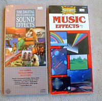 2 NEW CDS THE DIGITAL ENCYCLOPEDIA OF SOUND EFFECTS & MUSIC EFFECTS - SEALED