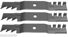 3 PK 6315 Rotary Blades Compatible Wtih John Deer M115496, M113518