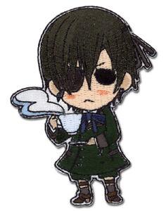 **Legit** Black Butler Chibi Ciel Tea Time  Iron On Authentic Anime Patch #4313