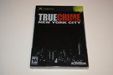 True Crime New York City Collectors Edition Microsoft Xbox Video Game New Sealed