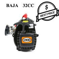 32cc 4 Bolts Engine For Hpi Rovan KM Baja 5b 5t 5sc Losi RC Car Parts AU