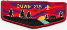 S10 Cuwe Lodge 218 Order of the Arrow OA Flap Boy Scouts of America BSA