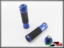 HONDA CB1000R CB919 CB599 CB600 HORNET STRADA 7 CNC BLU MANOPOLE & TAPPI COMBO