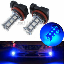 2pcs H11 Ultra Blue 18-SMD 5050 LED Fog Light Driving Daytime Running Light Bulb