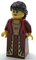 Lego New Queen Castle Minifigure with Red Dress Figure
