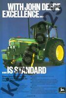 A3 John Deere 2140 Tractor Poster Sales Brochure Advertisement Britains Farm