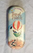 North American Bear Co, Circa 1993 Muffy Vanderbear Travel Watch Tin Case, New,