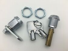 Wizard Spiral Gumball Machine Replacement Locks with Attachments Screw Tip & Cam